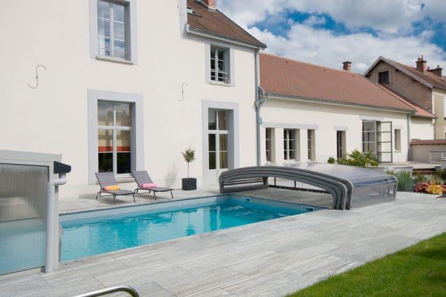 piscine chauffé extérieur