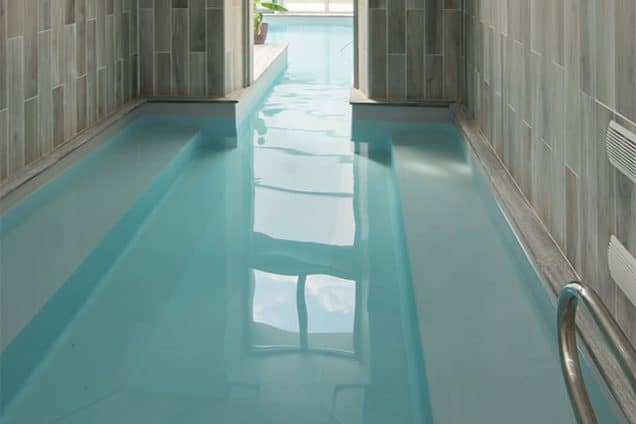 piscine intérieure gite